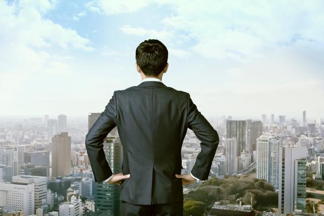 ビジネスで成功した男性